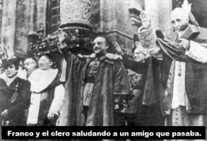 clero saludando