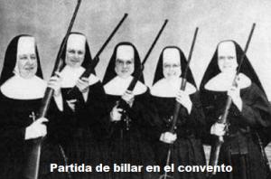 partida billar convento