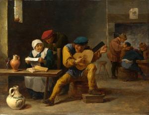 Peasants making Music in an Inn
